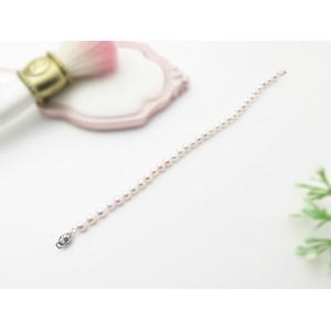 4.5-5mm Akoya Pearl Strand Bracelet With 18KW Clasp
